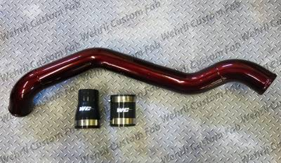 "Featured Categories - Intercooler Pipes - Wehrli Custom Fabrication - LB7 Driver Side 3"" Intercooler Pipe"