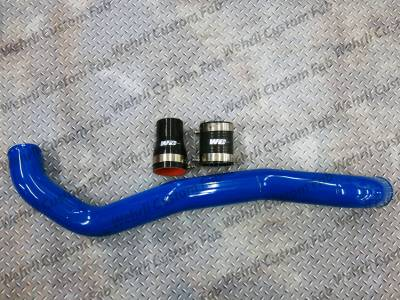 "Featured Categories - Intercooler Pipes - Wehrli Custom Fabrication - LML Driver Side 3"" Intercooler Pipe"