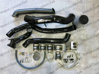 2011-2016 LML - Single Turbo Kits - Wehrli Custom Fabrication - S300 Single Install Kit LML Duramax