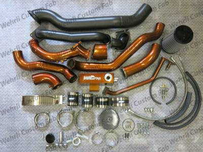 2001-2004 LB7 - Twin Turbo Kits - Wehrli Custom Fabrication - S400/Stock Twin Kit LB7 Duramax