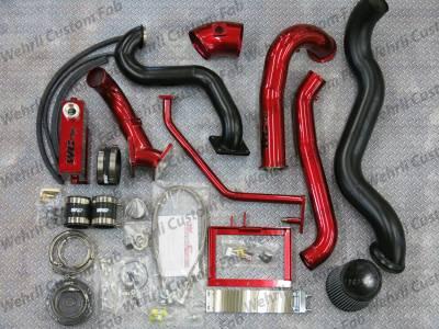 Featured Categories - Twin Turbo Kits - Wehrli Custom Fabrication - S400/Stock Twin Kit LML Duramax