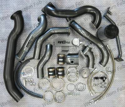 2001-2004 LB7 - Twin Turbo Kits - Wehrli Custom Fabrication - S500/S400 Twin Kit '01-16 Duramax