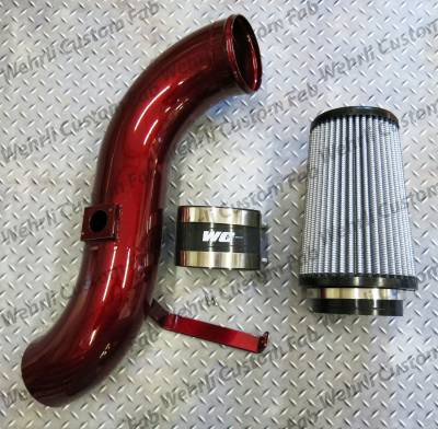 "2007.5-2010 LMM - Intakes - Wehrli Custom Fabrication - LMM 4"" Intake Kit"