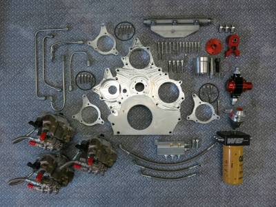 2001-2004 LB7 - Fuel System Parts & Kits - Gear Drive CP3 Front Cover