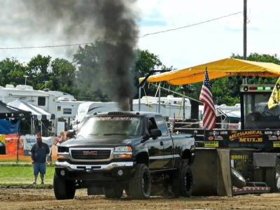 "2001 GMC Duramax 2.5"" Pull Truck Cover"
