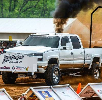 """Privileged- Chevy Duramax 2.6"""" Pull Truck Cover"""