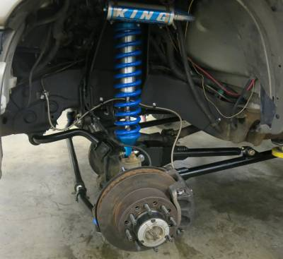 2004 Duramax Radius Arm with Coil over Shocks SAS Cover