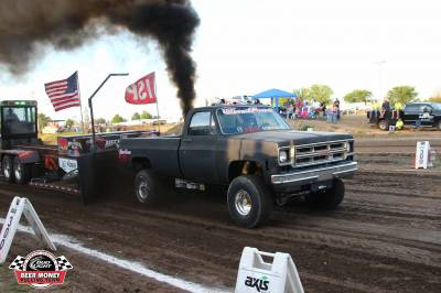 1976 GMC LBZ Pull Truck Cover