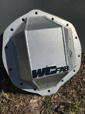 "2004.5-2005 LLY - Transmission & Drivetrain - Wehrli Custom Fabrication - AAM 11.5"" Rear Differential Cover"