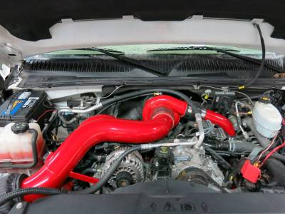 "2007.5-2010 LMM - Intakes - Wehrli Custom Fabrication - S300 Single 4"" Intake Kit '01-10"