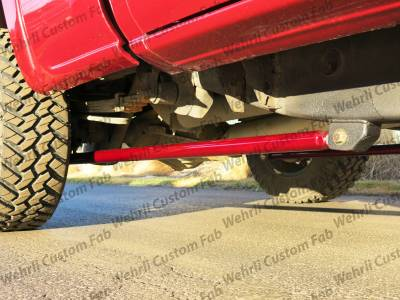 "Wehrli Custom Fabrication - 2001-2010 Duramax 68"" Traction Bar Kit (ECLB, CCLB) - Image 4"