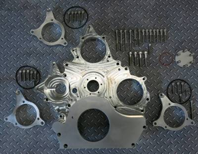 2006-2007 LBZ - Fuel System Parts; Injectors, Lift Pumps, CP3's - Gear Drive CP3 Front Cover