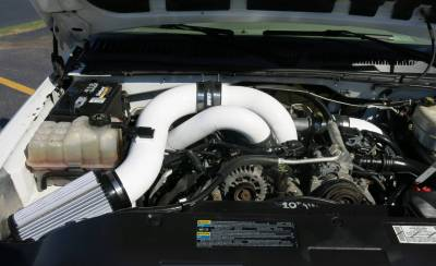 GLOSS WHITE- Shown with Stage 2 intake kit