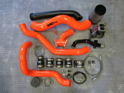 Wehrli Custom Fabrication - 2001-2004 LB7 Duramax S300 Single Turbo Install Kit