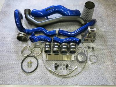 2001-2004 LB7 - Single Turbo Kits - Wehrli Custom Fabrication - S400 Single Install Kit LB7 Duramax