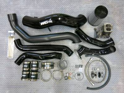 Wehrli Custom Fabrication - 2011-2016 LML Duramax S400 Single Turbo Install Kit