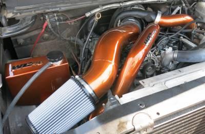 Wehrli Custom Fabrication - Duramax S400 Twisted Single Turbo Install Kit (Use with Wagler Intake and Pedestal) - Image 4