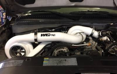 2004.5-2005 LLY - Twin Turbo Kits - Wehrli Custom Fabrication - 2001-2016 LB7/LLY/LBZ/LMM/LML Duramax S400/S400 Twin Turbo Kit