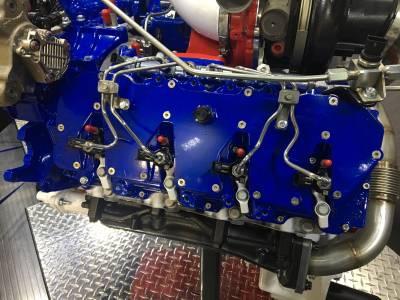 2011-2016 LML - Engine Parts & Gaskets - Wehrli Custom Fabrication - Duramax Billet Upper Valve Cover Set LML