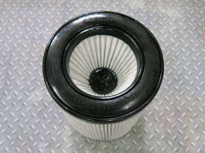 "Wehrli Custom Fabrication - Air Filter 5"" Inlet (Dry) - Image 2"