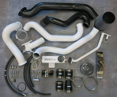 2004.5-2005 LLY - Twin Turbo Kits - Wehrli Custom Fabrication - 2004.5-2005 LLY Duramax S400/Stock Twin Kit