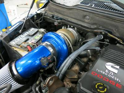 Wehrli Custom Fabrication - 2007.5-2009 6.7 Cummins S400/Stock Twin Turbo Kit - Image 3