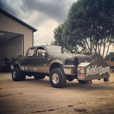 """Public Enemy- 2004 Ford Duramax 3.6"""" Pull Truck Cover"""