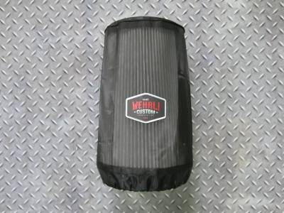 3rd Gen 6.7L 2007.5-09 - Intake - Wehrli Custom Fabrication - Outerwears Air Filter Cover