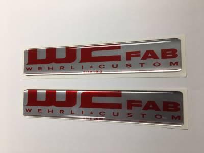 Wehrli Custom Fabrication - WCFab Gel Stickers - Image 3