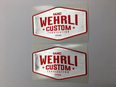 Wehrli Custom Fabrication - Wehrli Custom Badge Gel Stickers - Image 2