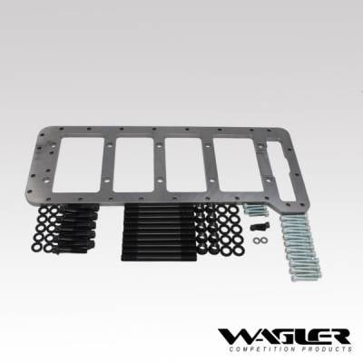 Engine Parts & Gaskets - Bottom End Components - Wagler Competition Products - Wagler Competition Duramax Girdle and ARP Stud Kit