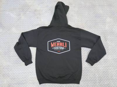 Apparel & Merchandise  - Sweatshirts & Jackets - Wehrli Custom Fabrication - Hooded Sweatshirt