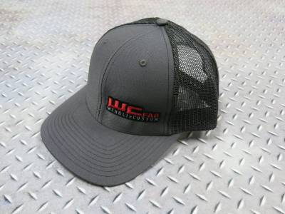 Apparel & Merchandise  - Hats & Can Coozies - Wehrli Custom Fabrication - Snap Back Hat Charcoal WCFab