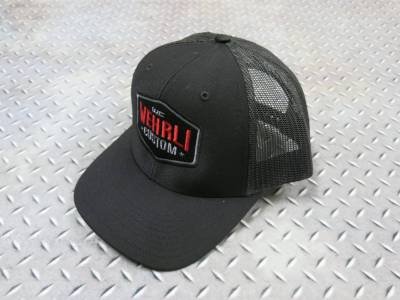 Apparel & Merchandise - Hats & Can Coozies - Wehrli Custom Fabrication - Snap Back Hat Black Badge
