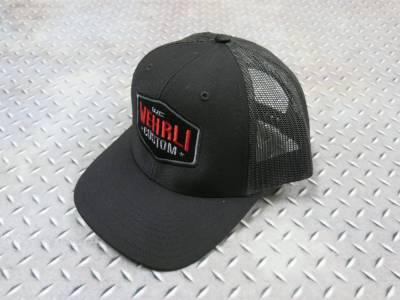 Apparel & Merchandise - Hats - Wehrli Custom Fabrication - Snap Back Hat Black Badge