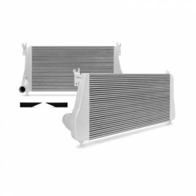 Y-bridges & Intercooler Pipes - Intercooler's - Mishimoto LB7-LLY Intercooler (Silver)