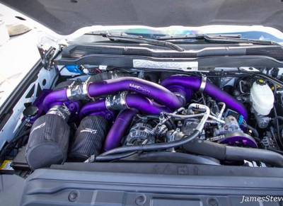 Turbo Kits - Triple Turbo Kits - Wehrli Custom Fabrication - Duramax S400/S300 Triple Turbo Kit