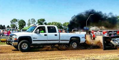 2001 Chevy Duramax Open Class Pull Truck Cover