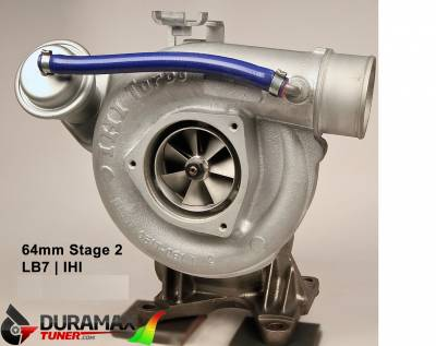 Turbo Chargers - VGT Drop-In Turbo's - Duramax Tuner - LB7 Stealth G2 64mm Drop In