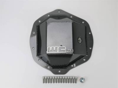 "2007.5-2010 LMM - Chassis & Suspension - Wehrli Custom Fabrication - AAM 11.5"" Rear Differential Cover"