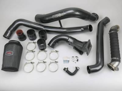 Featured Categories - Intercooler Pipes - Wehrli Custom Fabrication - LML High Flow Intake Bundle Kit
