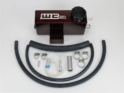 2006-2007 LBZ - Coolant Tanks - Wehrli Custom Fabrication - Twin Turbo Coolant Tank Kit LB7, LLY, LBZ