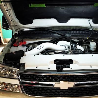 Wehrli Custom Fabrication - 2004.5-2005 LLY Duramax S300 Single Turbo Install Kit - Image 5