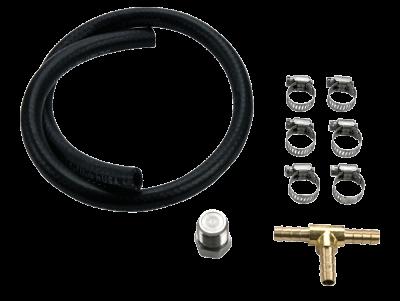 Fuel System Parts & Kits - CP3 Pumps - Wehrli Custom Fabrication - LB7 Fuel Pressure Relief Valve Block Off Kit