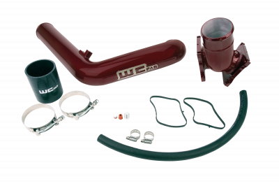 2006-2007 LBZ - Y-bridges & Intercooler Pipes - Wehrli Custom Fabrication - 2006-2010 LBZ/LMM Duramax Y-Bridge Kit