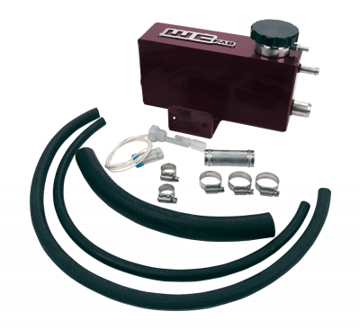 2004.5-2005 LLY - Cooling System - Wehrli Custom Fabrication - 2001-2007 LB7/LLY/LBZ Duramax Twin Turbo Coolant Tank Kit