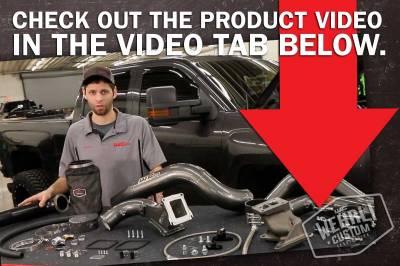 Wehrli Custom Fabrication - 2011-2016 LML Duramax S300 Single Turbo Install Kit - Image 6