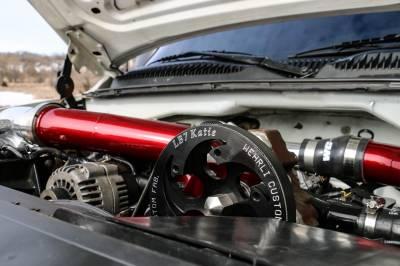 Wehrli Custom Fabrication - Duramax Twin CP3 Mount Bracket for AC Location (Deletes AC Compressor) - Image 2