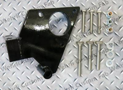 Fuel System Parts & Kits - Dual CP3 Kits & Misc. Parts - Wehrli Custom Fabrication - Duramax Twin CP3 Mount Bracket