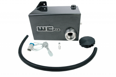 2004.5-2005 LLY - Cooling System - Wehrli Custom Fabrication - 2001-2007 LB7/LLY/LBZ Duramax OEM Placement Coolant Tank Kit